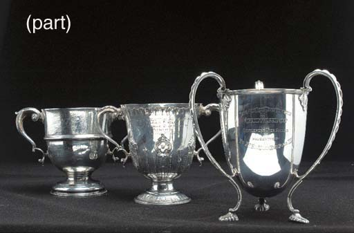 CHALLENGE CUPS 1907-1911 -- A