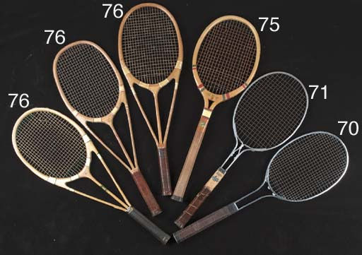 A Courtland racket manufacture