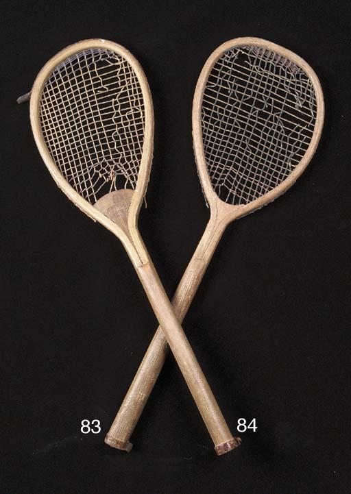 A tilt-head racket, manufactur