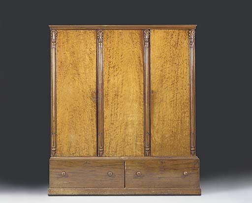 An early Victorian mahogany ge