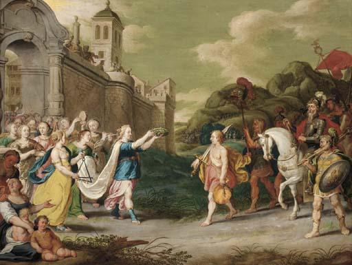 Attributed to Cornelis de Bael
