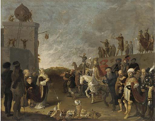 Dirck Bleker (Haarlem c. 1622-