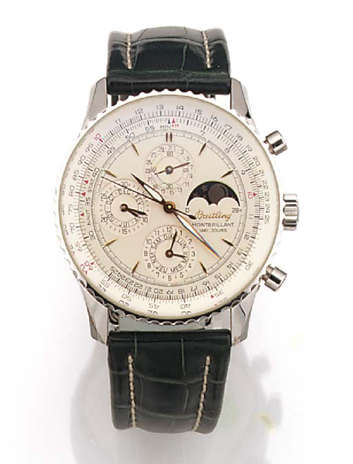 BREITLING, A STAINLESS STEEL A