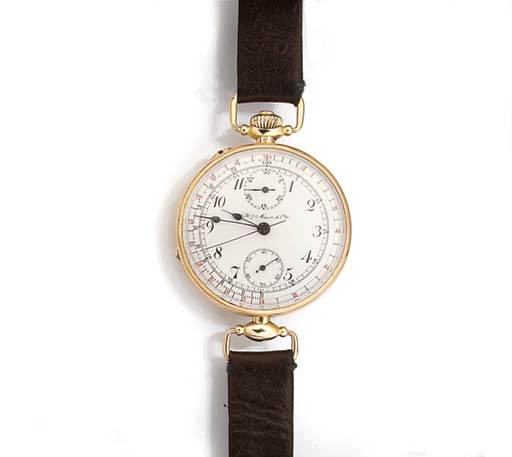 HY MOSER & CIE, 14ct. GOLD SIN