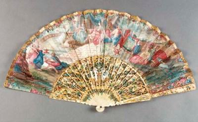 An interesting folding fan, t