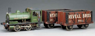 A 5in. gauge model of a GWR 0-