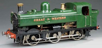 A 5in gauge model of a GWR 57X