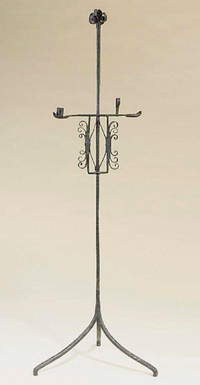 An Irish wrought iron standing