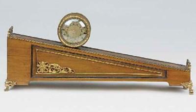 An English gilt-brass mounted