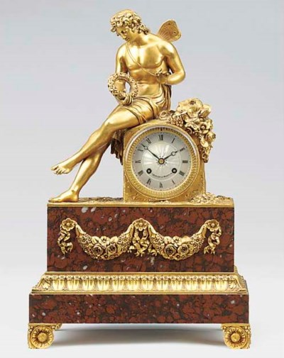 A Louis Philippe ormolu and ro