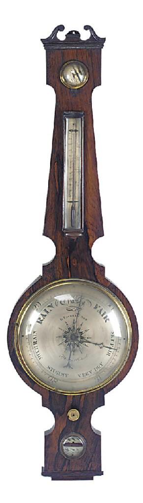 A William IV rosewood wheel ba