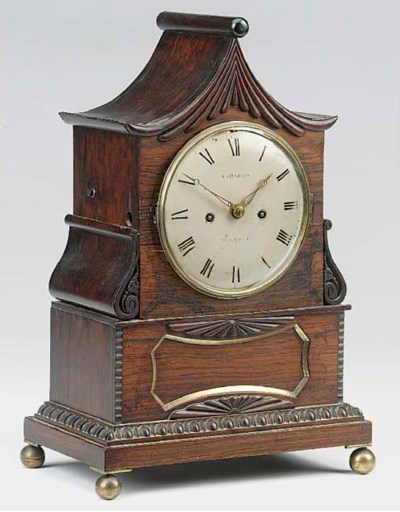A William IV rosewood small br