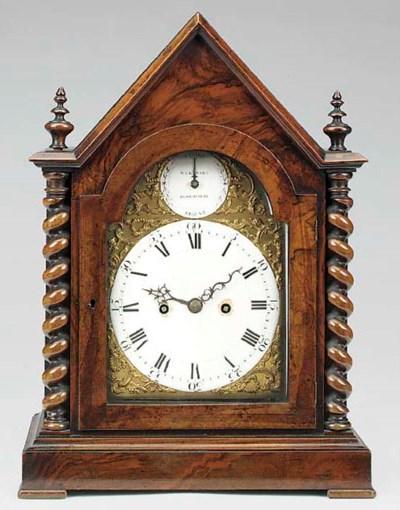 A George III bracket clock mov