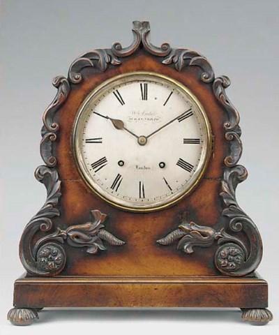 An early Victorian mahogany st