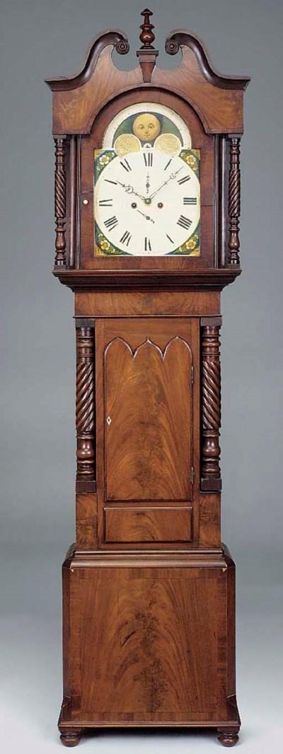An early Victorian mahogany lo