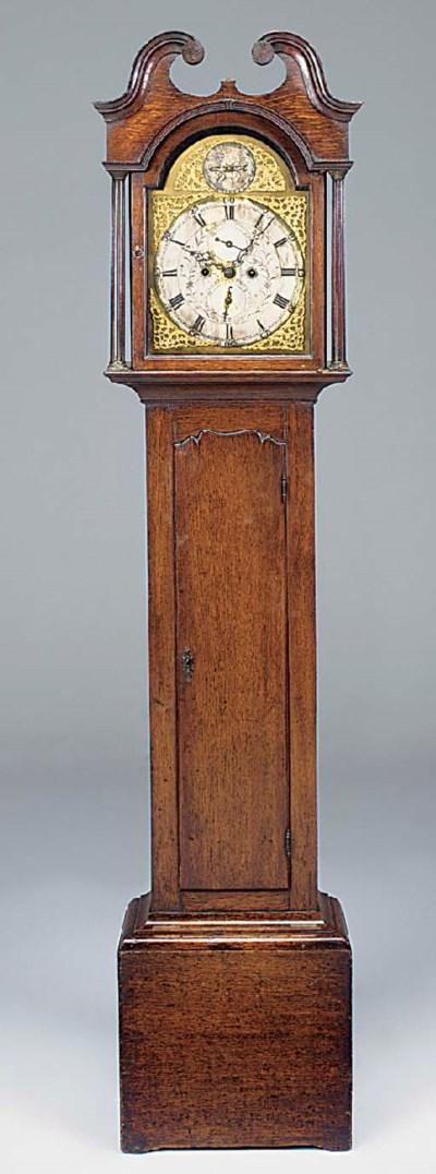 A George III Scottish oak long