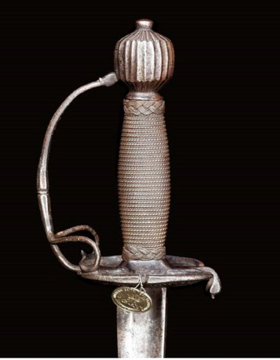 AN ENGLISH OFFICER'S BACKSWORD