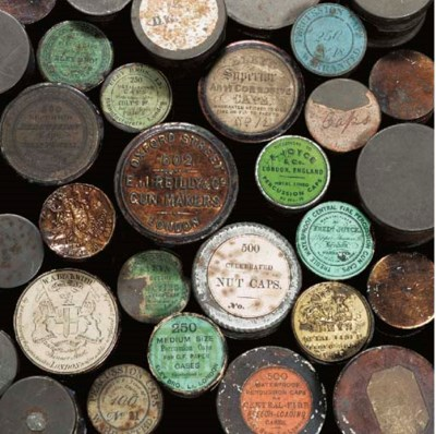 A SIMILAR GROUP OF THIRTY TINS