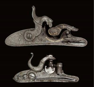 A CONSOLE TUBE-LOCK GUN MECHAN