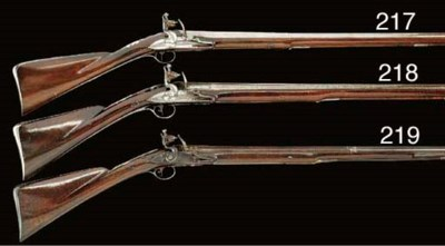 AN UNUSUAL 16-BORE FLINTLOCK S
