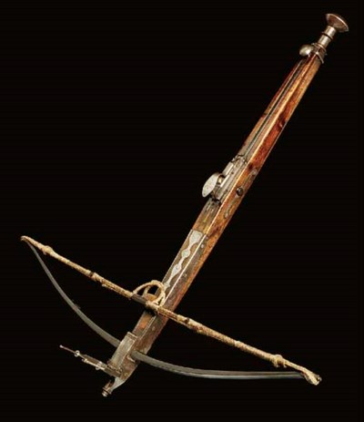 AN ENGLISH BULLET CROSSBOW