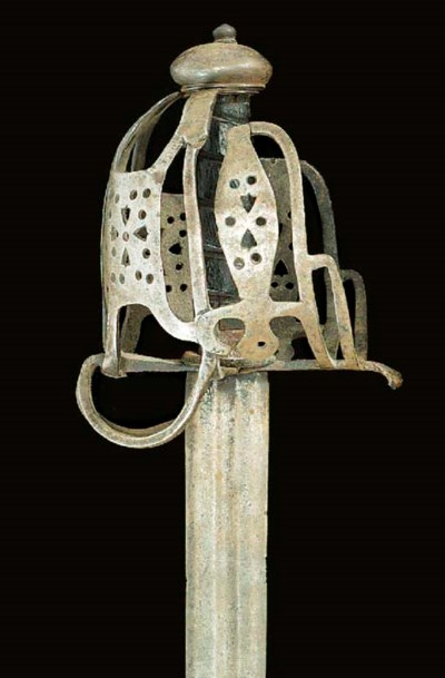 A SCOTTISH BASKET-HILTED BROAD