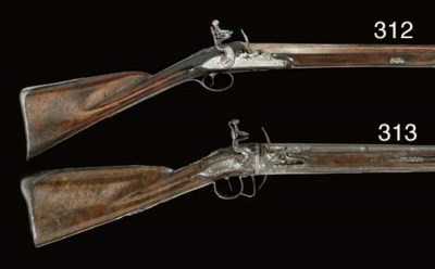 A RARE 20-BORE FLINTLOCK TURN-