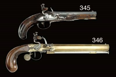 A PAIR OF 56-BORE GERMAN FLINT