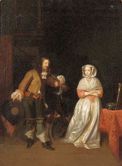 Manner of Gerard Terborch