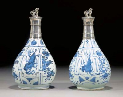 A MATCHED PAIR OF LATE MING BL