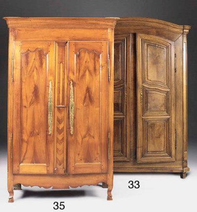 A FRENCH PROVINCIAL WALNUT AND
