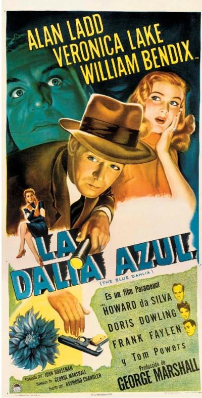 The Blue Dahlia/La Dalia Azul