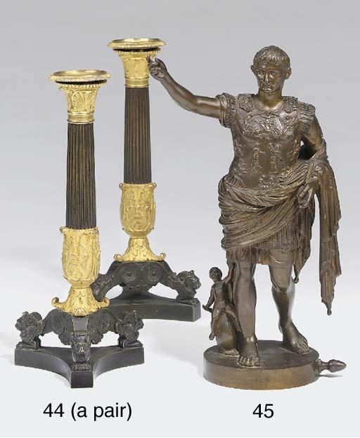 An Italian bronze figure of Ca