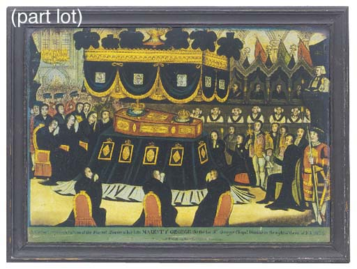 Two George IV mezzotints under