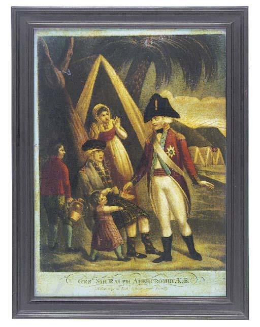 A George III mezzotint under g