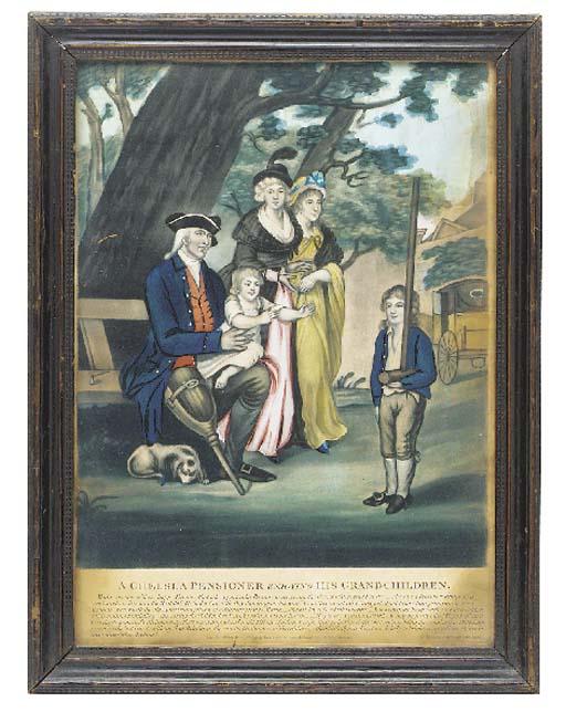 A George III tinted print enti