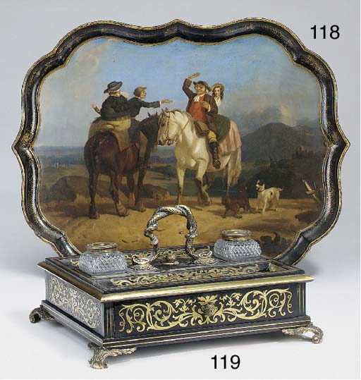 A George IV brass mounted and