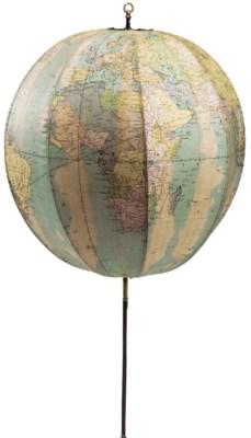 An Edwardian portable terrestr