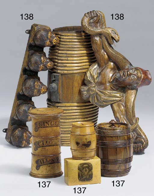 A sycamore spice tower, 19th c