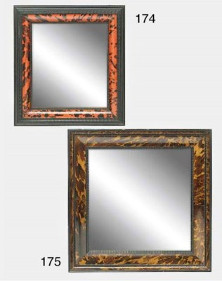 A DUTCH STYLE TORTOISESHELL VE