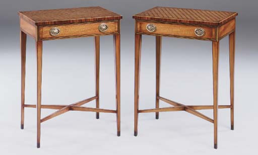 A PAIR OF PARTRIDGEWOOD, ROSEW