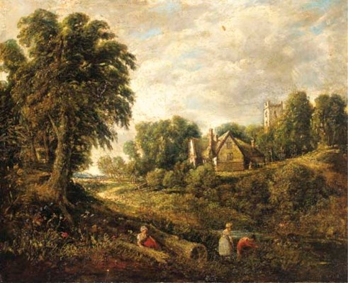 After John Constable, R.A.