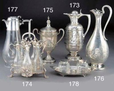 A Victorian Silver Warwick Cru