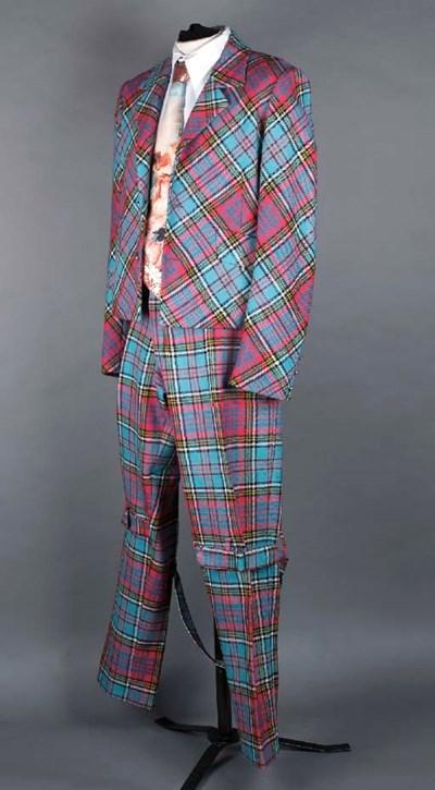 A McAndreas tartan suit, compr