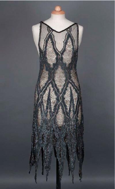 A cocktail dress, the black ne