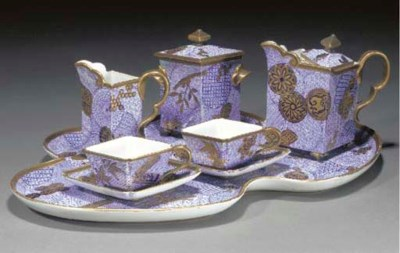 A 'JAPONISTE' TEA FOR TWO by R