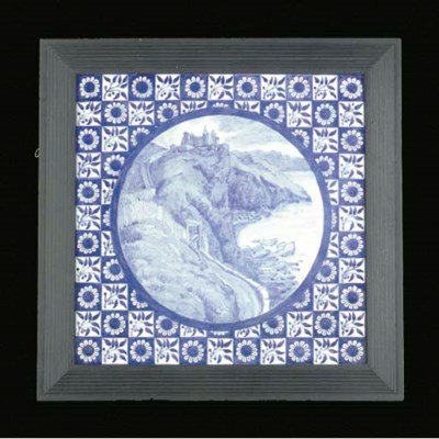 A TILE by E J Poynter, manufac