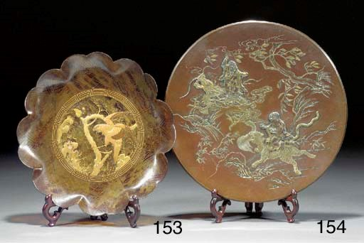 A Japanese gilt lacquer tortoi