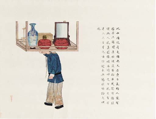 A quantity of Chinese painting