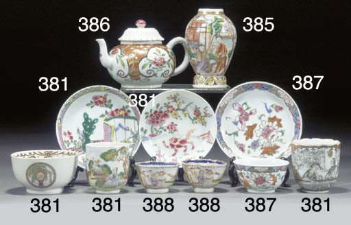 A quantity of Chinese export t